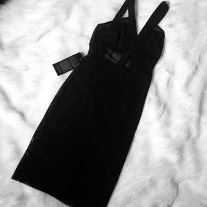 Bebe little black dress♠️♠️